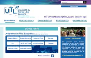Site internet de l'UTL-Essonne